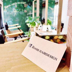 Room HAIRDESIGNのショップカード